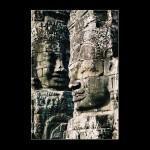 Cambodia Buddha Stone Head temples