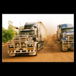 Road Train Lorries lory Central Australia