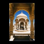 Jaisalmer India indian Soubor Chhatris