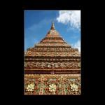 Bankok Thailand Temple stupa monument