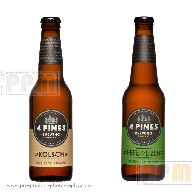 4Pines Beer Bottle Photographers – New Labels shoot
