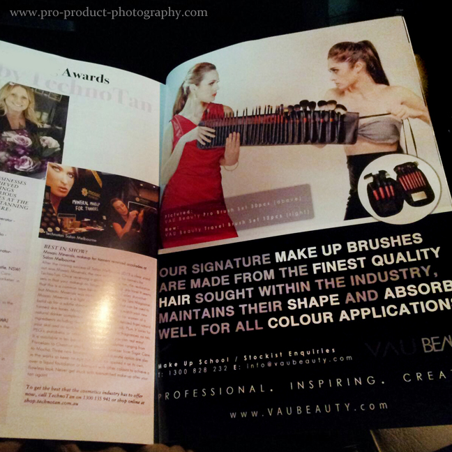Advertising photographer melbourne victoria australia cosmetics
