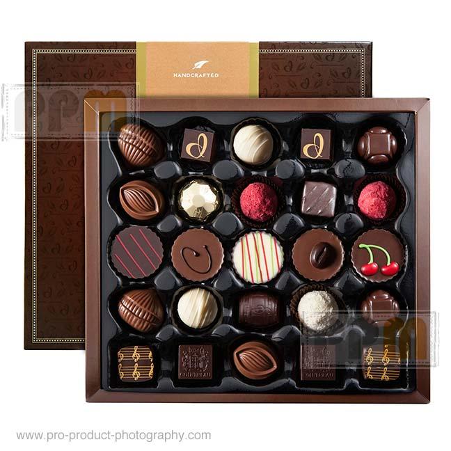 Chocolate food photographer Melbourne Australia - food product photography